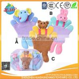 baby terry towel Bathing Wascloths baby animal bath Washcloth mitt glove