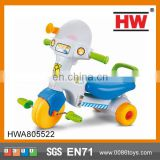 Funny plastic children cheap baby tricycle with light and music