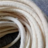 Customized industrial wool felt rope/wool felt seals/wool felt gasket/wool felt tube(info@chinafelt.com)