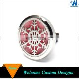 Custom 316L Stainless Steel Car Essential Oil Diffuser Locket Car Vent Clip, Car Aromatherapy Air Freshener
