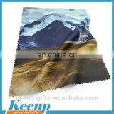 Promotional Products Eco-friendly Double-sided Plush Suede Optical Glass Wiping Cleaning cloth