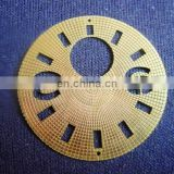 Customize Brass Etched digital Watch Dial