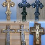 metal Jesus cross Christain metal plaque
