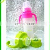 Soft high quality silicone baby bottle