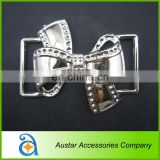 Silver Plastic Belt Buckle for wholesale