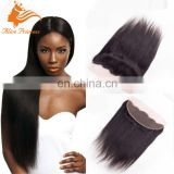 Cheap Malaysian Straight Lace Frontal Closure With Baby Hair 13X4 Virgin Human Hair Full Lace Frontal Silky Straight