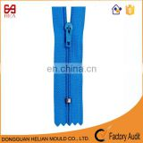 Hot sale 3# close end decorative nylon zipper for garment accessory