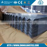 electrolytic zinc-coated steel sheet for roofing