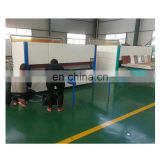 Automatic wood grain transfer machine for door
