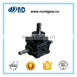 B1101 ratio1:1 cast iron housing forward and reverse agricultural machines right angle gear box                                                                         Quality Choice