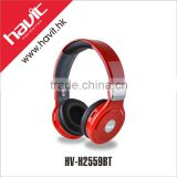 Havit HV-H2559BT Bulk wholesale stereo bluetooth headset, OEM brand wireless bluetooth headphone