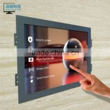 23.6 inch capacitive touch screen LCD monitor 1920*1080 DVI metal open frame /kiosk/wall
