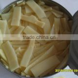 Health food canned vegetable organic bamboo shoots whole/half/slice/strip/tidbits A10 size