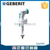 Typ340 GEBERIT Compact and Reliable Filling Valve for Toilet Cistern, Australian Standard Watermark Inlet Valve