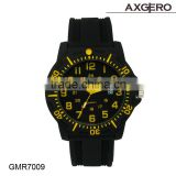 Fashion silicone watch geneva wrist watch new hot sale low price unisex watch