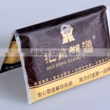 Advertising Wallet Tissue Pack with customized design
