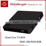 IN STOCK X2 H3 Quad-core ROM: 8GB, RAM: 1GB, Support Full HD 1080P, WiFi, Miracast, DLNA, XBMC Android 4.4 Smart TV Box