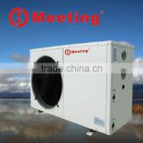 Economical Portable Heat Pump 12000~24000 btu Air to air water double Source Floor heating heater solar Heat Pump