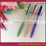 Novelty gift items, crystal pen set,diamond crystal pen gift                                                                         Quality Choice