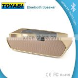 Portable Bluetooth Wireless FM Stereo Speaker With High Quality Alarm Clock Bluetooth Bass Speaker