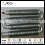 AURON/HEATWELL ss 316l electric AC heating corrugated tubes/ss 316L AC finned bellow tube/ss 316L heating board bellow tubes