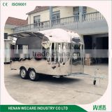 Diner customized electric food truck WECARE stainless steel cart