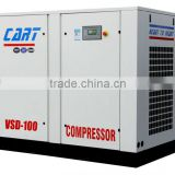 Air compressor manufacturer,90KW 125HP Stationary saving-cost direct drive screw air compressor,Competitive price