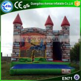 Digital Printing inflatable trampoline kids bounce house commercial bouncy castle for sale