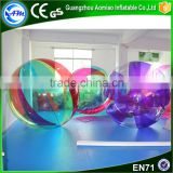 New design high quality colorful human sized hamster ball,water ball price