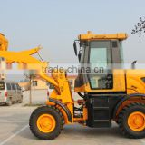 1.8ton wheel loader with 0.7m3 bucket/zl18 zl20 articulated wheel loader/construction machinery/earth moving equipments