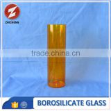 colored tempered 3.3 borosilicate pyrex glass tube