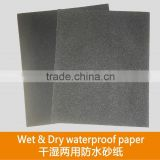 Wet & Dry waterproof paper for damp smoothing of automotive bodies ideal for hand tooling on paints in general on wood plastics