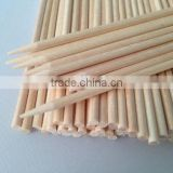 120x2.5mm natural wooden stick for broom and mop