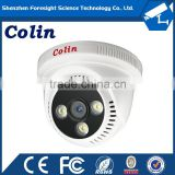 Colin supply real color night vision white light infrared ir indoor ahd dome camera