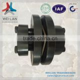 DGL Bearing Accessories Single high speed flexible rubber couplings for industrial machines, high speed and high power