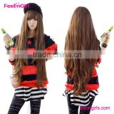 colorful synthetic wig for party funny hair wigs