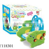 Cartoon baby potty dual purpose commode chair with music
