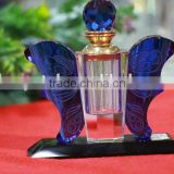 Lovely butterfly shape wedding favors empty crystal perfume bottles for sale                                                                         Quality Choice