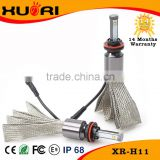 Super Bright H11 halogen bulb 2800lm led headlight lamp replacement bulb h11 high power 10-32V DC LED H11