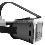 "3D Glasses Google Cardboard Virtual Reality VR 3D Movies Games TV Glasses with Head Strap For 4-6.5"" Phones"