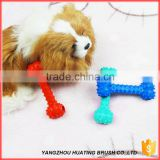 Bone shape squeaky dog toy