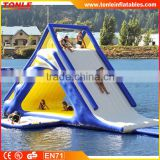 giant inflatable water toys/ Freefall water slide for inflatable floating water playground