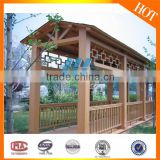 The new style fashion,easy to clean, durable,waterproof, prevent slippery WPC fence panels