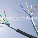SFTP Network Cable Manufacturers 4P 24/26AWG CCS/CCA/CCAG/CU cat5 computer cable lan cable wholesale In Guangzhou factory