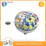 Popular Big Metal Design Bicycle Bell,colorful ding dong bell,big steel bell