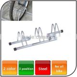 Outdoor Display Bike Parking Rack Easy Installation Steel Rack Bicycle Repair Stand Bike Rack