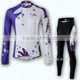 2012 Women's Custom Cycling Jersey & Pants Set                                                                         Quality Choice