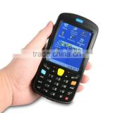 3.5 inch TFT LCD touch screen win ce handheld barcode scanner pocket pc