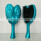 Detangling angel hair comb/Antibacterial hair brush for smoothing hair