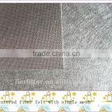 sintered non-woven metal fiber felt wirh single mesh